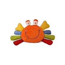 Plush Happy Crab - Multicolour
