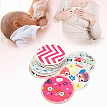 12x Bamboo Waterproof Leakproof Anti-spill Washable Nursing Breastfeeding Pads