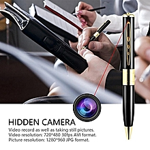 Nanny Spy Camera Pen Hidden Gold Supports Upto 32 GB