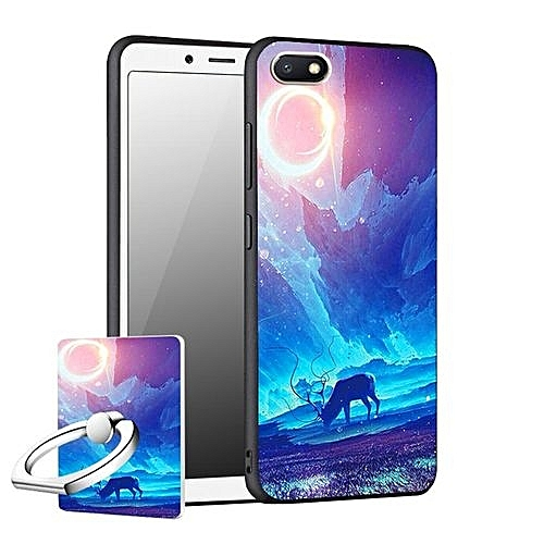 "Generic For Xiaomi Redmi 6A 5.45"" inch Cool Design Colored Paiting Soft TPU Silicone Back Cover Case Phone Cases"