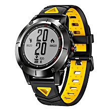 G01 GPS Smart Watch 1.05 inch Bluetooth 4.0 IP68 Waterproof Call / Message Reminder Heart Rate Monitor Sleep Monitoring Functions IP68 for Outdoor Sport