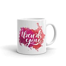 """11oz ceramic mug """"Thank You"""""""
