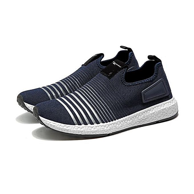 6d807744db96 Fashion Men Mesh Knit Slip On Casual Soft Sole Athletic Shoes Sneakers-EU