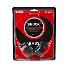 Dynamic Super Bass Single Pin Wired Headphones 1.5 Meter, SE-023