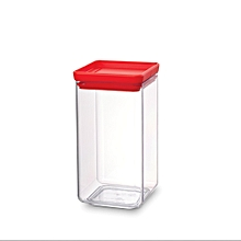 290084 - Square Canister 1.6L - Red