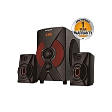 MP-2174 Multimedia 2.1 Subwoofer With Bluetooth - Black