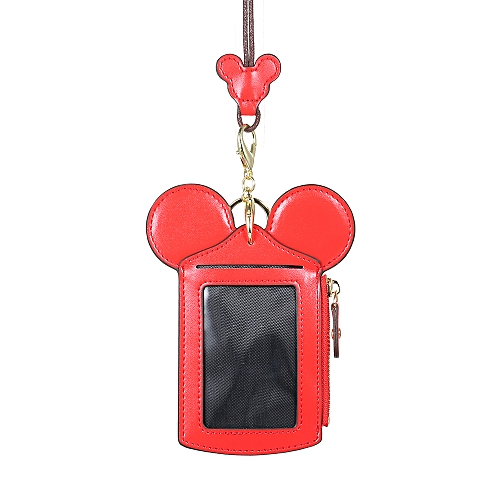 Cartoon Cute Card Holder Protector ID Credit Card Case Leather Mini Slim  Pocket Wallet Coin Change Purse with Key Ring & Lanyard