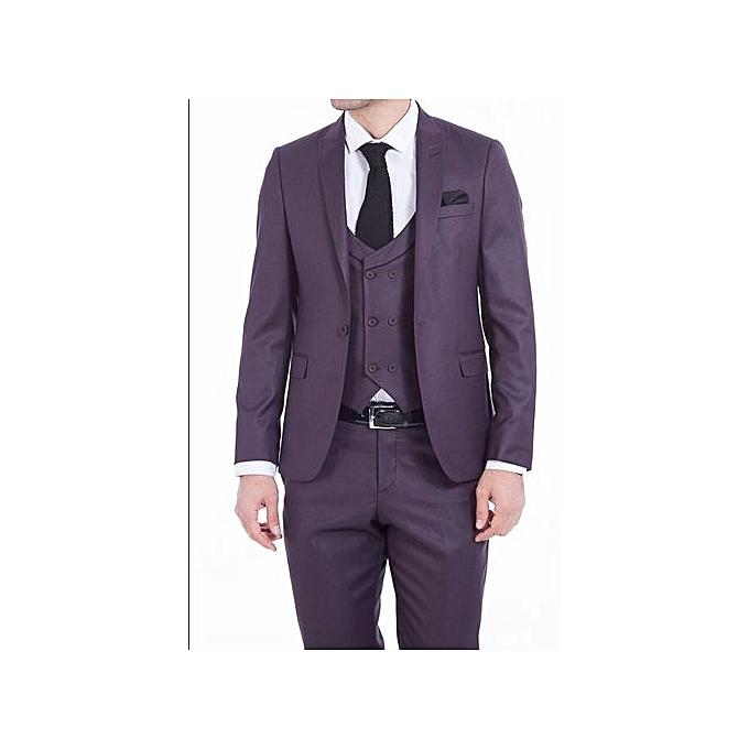 a513ae38aa6 Turkey men s suit 3 sets slim fit business formal suits dinner groom  wedding dress (jacket