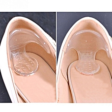 Fashion Silicone Gel High Heel Grip Shoe Insole Pad Foot Protector Cushion