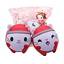 Cooland Christmas Cat Squishy 12*10CM Soft Slow Rising With Packaging Collection Gift Toy-