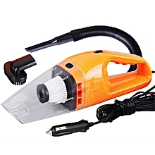 OR Portable 120W Wet and Dry Dual-use Super Suction Handheld Car Vacuum Cleaner-orange