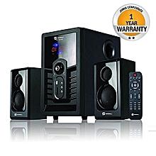 2.1 Ch Subwoofer – 8000Watt – USB/FM/Bluetooth SHT-1004BT – Black