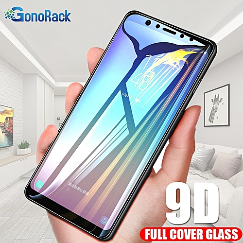 9D Protective Glass for Samsung A7 2018 Glass on Samsung Galaxy A7 2018  Glass A9 2018 A9 Star Lite Pro A8S A6S Screen Protector