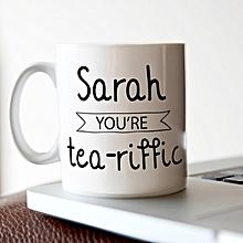 Personalised Standard Mug - Tea Riffic