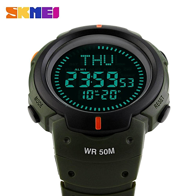 New Brand Outdoor Sports Compass Watches Hiking Men Watch Digital Led Electronic Watch Man Sports Watches Chronograph Men Clock And To Have A Long Life. Men's Watches Digital Watches