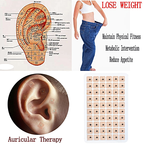 300pcs Therapy Ear Patch Auricular Auriculotherapy Acupuncture Seed