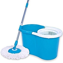 Aqua Spin Mop - 360 Degree - Blue