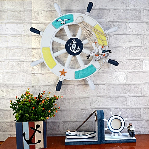 Buy Louis will Mediterranean Style Wall Decor Mini Boat Wall Sticker ...