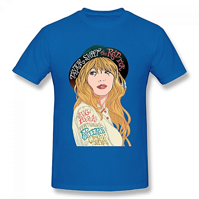 a878460bd Generic Taylor Swift The Red Tour Men's Cotton Short Sleeve Print T ...