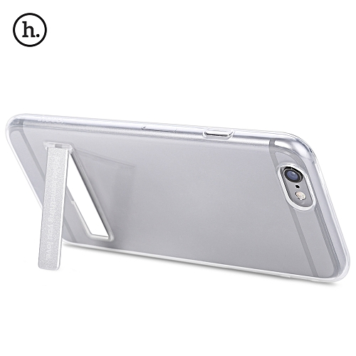 HOCO 4.7 Inch Transparent TPU Phone Cover Magnetic Stand Protective Case for iPhone 6 / 6S