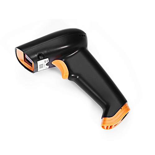 generic s2 2 4ghz wireless barcode scanner handheld bar code reader black best price online. Black Bedroom Furniture Sets. Home Design Ideas