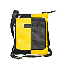 Black/ Yellow Front Pocket Body Bag