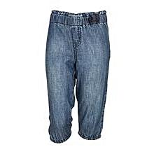 Light Blue Kid Girls' Pants