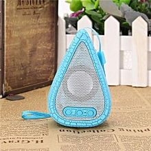 Portable Mini Water Drop LED Wireless Bluetooth Speaker Stereo For Tablet Phone Blue
