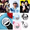 Selfie Portable Fill Light LED Ring Camera Photography For Smart Phone Pink