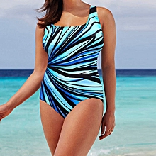 Womens Swim Bikini Padded Swimsuit Monokini Push Up