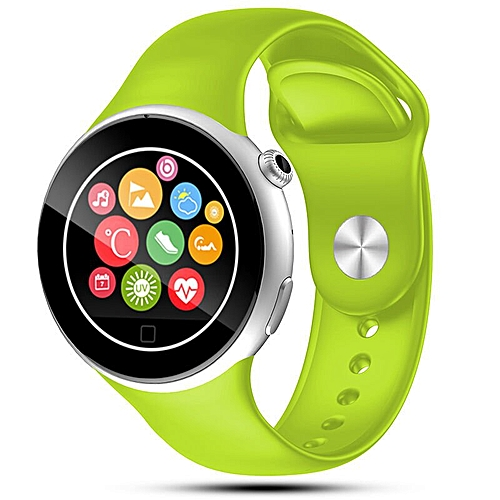 2016 Bluetooth Smart Watch C5 Waterproof WristWatch Sport Pedometer Smartwatch Smartphone Watches  (Color:Green)