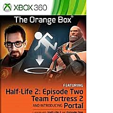 XBOX 360 Game The Orange Box