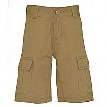 Harvest Gold Kids Cargo Shorts