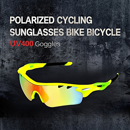 214f88dd74 Generic Cycling Glasses Men Women Polarized Bike UV400 Eyewear Bicycle  Goggles Outdoor Sports Bicycle Sunglasses Goggles 5 Interchangeable Lenses  for Riding ...