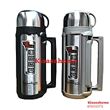 1.8L Stainless Steel Double Wall Thermos Flask