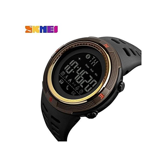 ... 2017 NEW Men's Smart Sport Watch New SKMEI Brand Bluetooth Calorie Pedometer Fashion Watches Men 50M ...