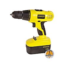 Cordless Hammer Drill - 18.0V NI-CD - Black & Yellow