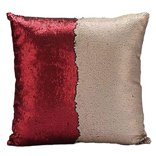 Buy Generic DIY Two Tone Glitter Sequins Throw Pillows Decorative Best Diy Decorative Pillow Covers