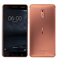 Nokia 6 - 3GB RAM, 32GB ROM 5.5 inches Camera: 16MP Rear, 8MP Front. copper color