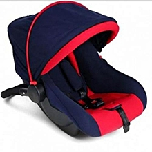 Superior Infant Car Seat/Carry Cot - Red and Blue