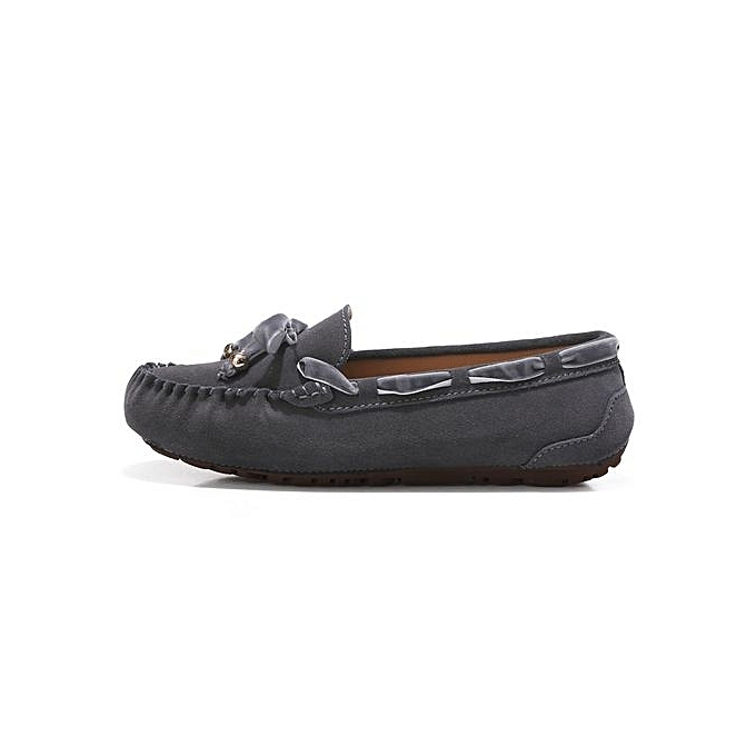 50196beda34 Fashion Fashion Women Casual Breathable Slip-On Leather Loafers ...