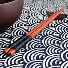 Elegant 1 Pairs Japanese Natural Iron Wood Chopsticks Gift Cooking Durable*