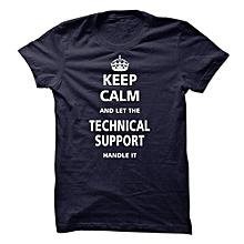 Black Keep Calm T-shirt
