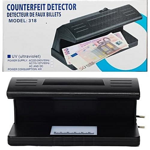 Counterfeit Detector Currency LED UV light- Model 318