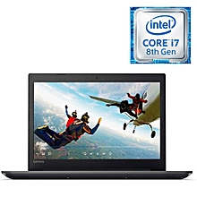 "Ideapad 320 -15.6"" - Intel Core i7- 8550U - 8GB RAM - 1TB HHD- 2GB Graphics - No OS Installed - Black"