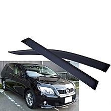 Car Windbreaker/ Window Visor(Black) 4pcs for Fielder