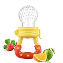Baby Fruits Feeding Food Pacifier Silicone Kids Juice Feeding Teethers Nipple- S (random Color) - -