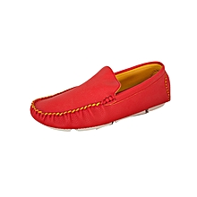 Red Gents Loafers