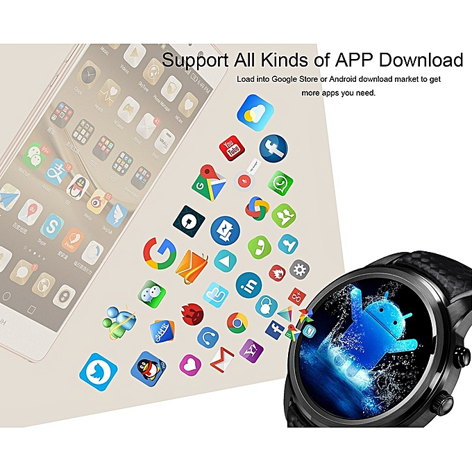 Top 1 best HOT SELLING LEM5 Smart Watch Android 5 1 OS 1 39