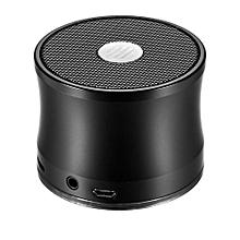 Steel Portable Wireless Bluetooth Speaker Enhanced Bass